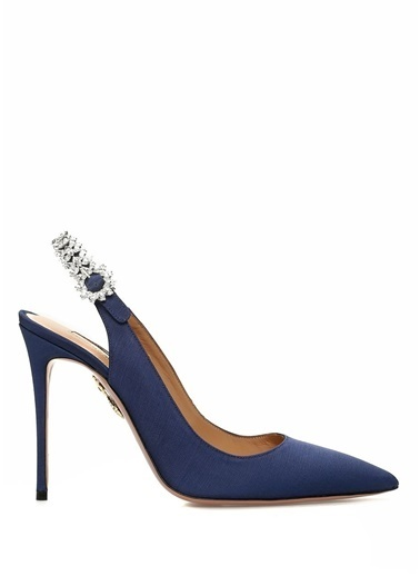 Aquazzura Stiletto Lacivert